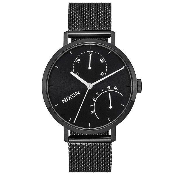 Кварцевые часы женские Nixon Clutch Black/White недорго, оригинальная цена