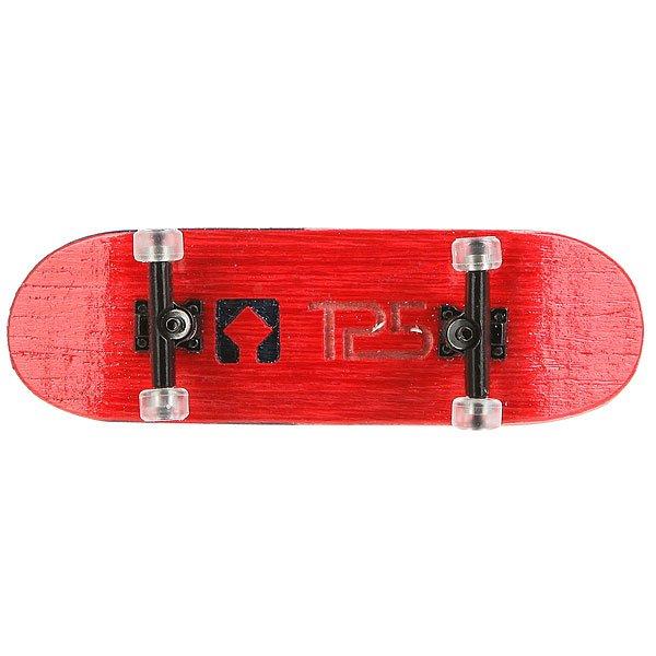 Фингерборд Turbo-Fb П10 Wide 32м с деревянным боксом Red/Black/Clear