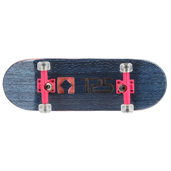 Фингерборд Turbo-Fb П10 Wide 32м с деревянным боксом Navy/Pink/Clear<br><br>Цвет: Темно-синий,Темно-розовый<br>Тип: Фингерборд<br>Возраст: Взрослый<br>Пол: Мужской