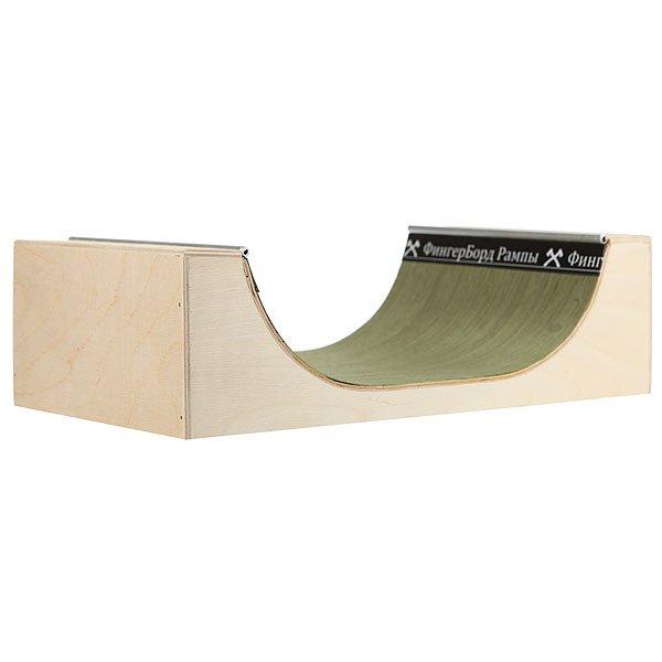 Фигура для фингерпарка Turbo-Fb Мини Рампа S Green/Beige<br><br>Цвет: бежевый,зеленый<br>Тип: Фигура для фингерпарка<br>Возраст: Взрослый<br>Пол: Мужской