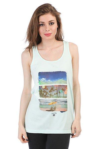 Майка женская Billabong Aloha Beach Aloe<br><br>Цвет: Светло-зеленый<br>Тип: Майка<br>Возраст: Взрослый<br>Пол: Женский
