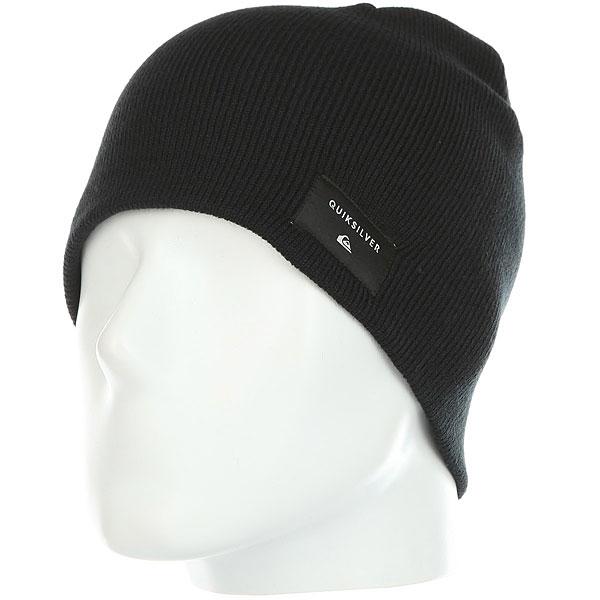 Шапка Quiksilver Cushy Black шапка носок детская quiksilver preference black