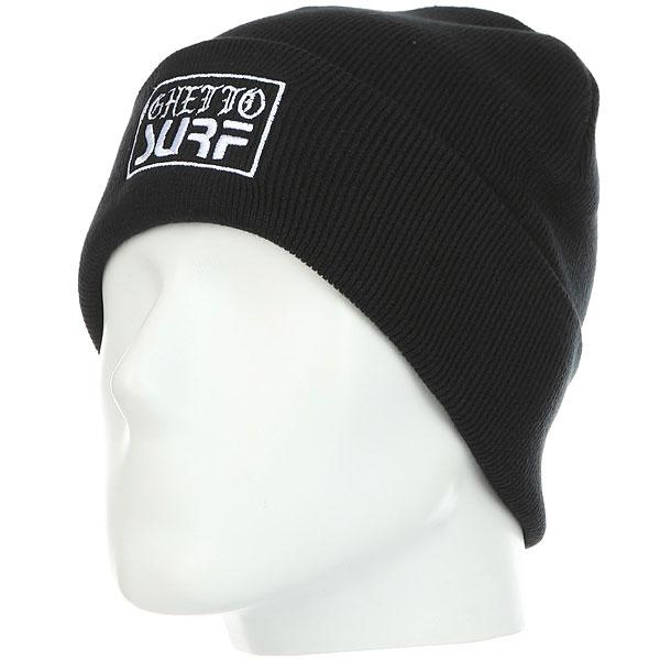 Шапка Quiksilver Ghettosurfbeani Black шапка носок детская quiksilver preference black