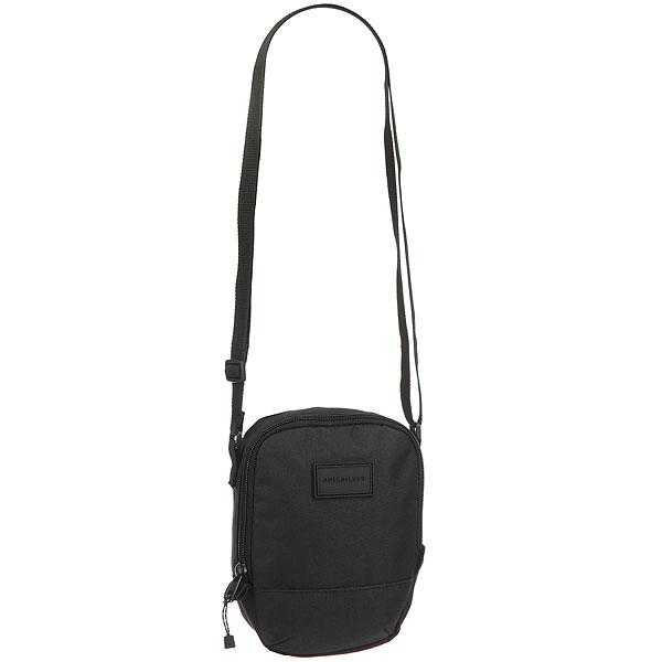 Сумка Quiksilver Dies BlackНебольшая сумка через плечо Black Dies.Технические характеристики: Одно основное отделение на молнии.Лямка регулируемой длины.Объем — 1,5 л.<br><br>Цвет: черный<br>Тип: Сумка<br>Возраст: Взрослый<br>Пол: Мужской