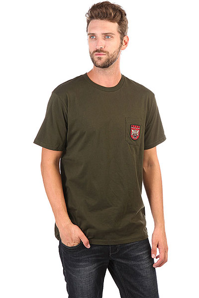 Футболка DC Barkly Pocket Dark Olive бомбер dc hexham dark olive