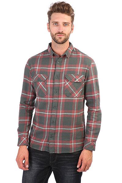 Рубашка в клетку Quiksilver Fitzforktail Urban Grey рубашка в клетку quiksilver helsby american beau