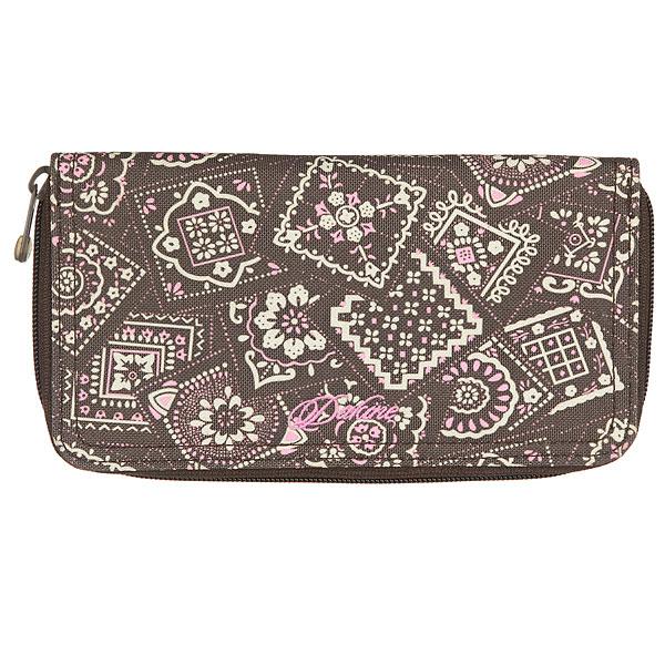 Кошелек женский Dakine Checkbook Brown/Pink<br><br>Цвет: мультиколор<br>Тип: Кошелек<br>Возраст: Взрослый<br>Пол: Женский