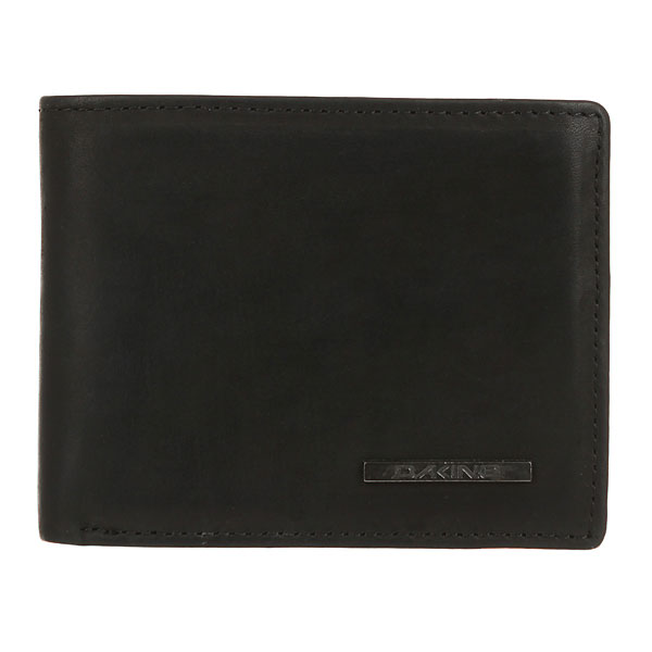 Кошелек Dakine Agent Leather Wallet Black