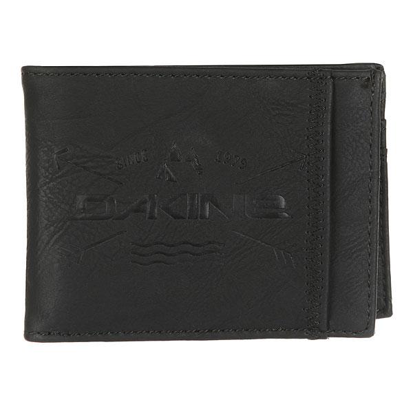 Кошелек Dakine Conrad Wallet Black<br><br>Цвет: черный<br>Тип: Кошелек<br>Возраст: Взрослый