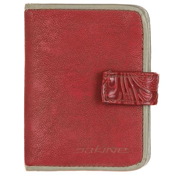 Визитница Dakine Opal Maroon<br><br>Цвет: красный<br>Тип: Визитница<br>Возраст: Взрослый