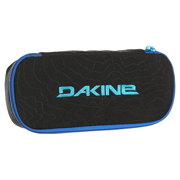 Пенал женский Dakine School Case Glacier<br><br>Цвет: черный,синий<br>Тип: Пенал<br>Возраст: Взрослый<br>Пол: Женский