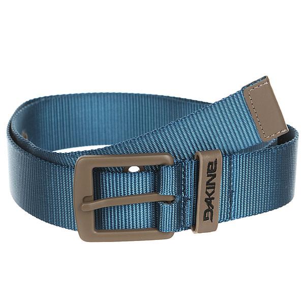 Ремень Dakine Ryder Belt Moroccan<br><br>Цвет: синий<br>Тип: Ремень<br>Возраст: Взрослый<br>Пол: Мужской
