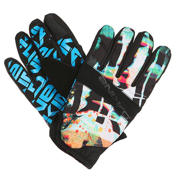 Перчатки Dakine Crossfire Glove SplatterТонкие перчатки для активного отдыха, занятий спортом или для города.Технические характеристики: Водоотталкивающая обработка DWR.Ладонь из синтетической замши с силиконовым покрытием.Трикотажная подкладка.Эластичная манжета.<br><br>Цвет: мультиколор<br>Тип: Перчатки<br>Возраст: Взрослый<br>Пол: Мужской