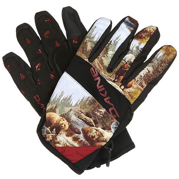 Перчатки Dakine Crossfire Glove Paradise<br><br>Цвет: мультиколор<br>Тип: Перчатки<br>Возраст: Взрослый<br>Пол: Мужской