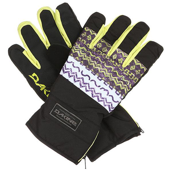 Перчатки Dakine Omega Glove TribeМужские перчатки с манжетой на молнии Dakine Omega созданы для холодной погоды. Перчатки подходят для работы с сенсорными экранами.Технические характеристики: Индекс тепла 3/5.Мембрана DK Dry Waterproof  блокирует влагу извне, сохраняя руки в сухости и тепле.Утеплитель High loft synthetic 80г создает воздушное пространство, сохраняющее тепло и в то же время позволяет рукам дышать.Ладонь выполнена из материала Rubbertec - полиэстер с прорезиненным покрытием. Водонепроницаемый, устойчивый к истиранию материал повышенной прочности.Водоотталкивающая пропитка DWR.Подкладка из флиса 230г.Манжета на молнии.Вставка для вытирания носа на большом пальце.<br><br>Цвет: мультиколор<br>Тип: Перчатки<br>Возраст: Взрослый<br>Пол: Мужской