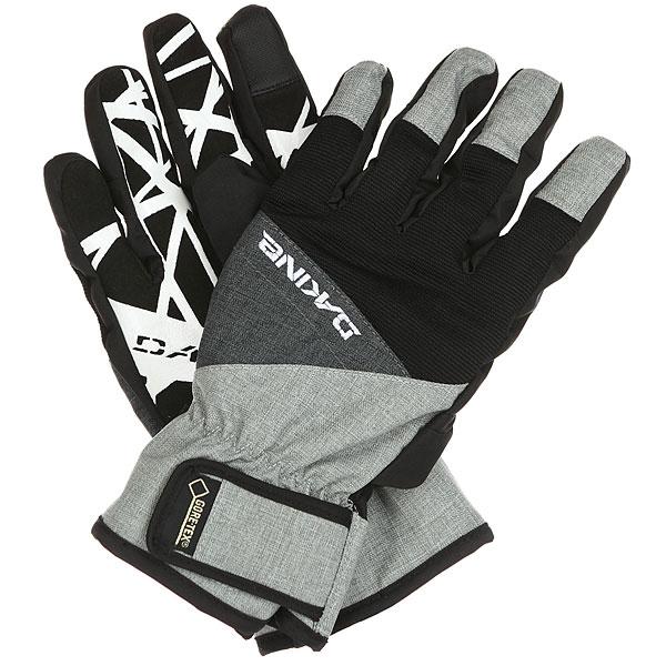 Перчатки Dakine Impreza Glove Carbon<br><br>Цвет: черный,белый<br>Тип: Перчатки<br>Возраст: Взрослый<br>Пол: Мужской