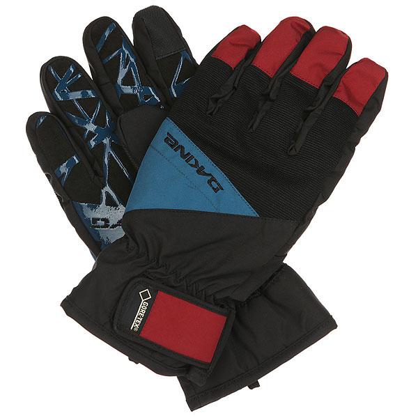 Перчатки Dakine Impreza Glove Crimson<br><br>Цвет: черный,красный<br>Тип: Перчатки<br>Возраст: Взрослый<br>Пол: Мужской