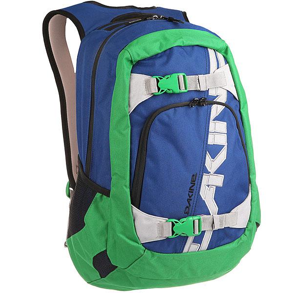Рюкзак спортивный Dakine Explorer 26 L Portway<br><br>Цвет: синий,зеленый<br>Тип: Рюкзак спортивный<br>Возраст: Взрослый