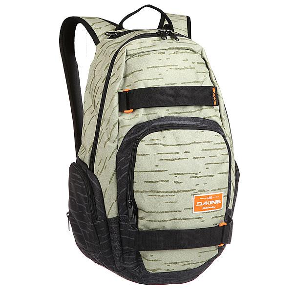 Рюкзак городской Dakine Atlas 25 L Birch<br><br>Цвет: черный,Светло-зеленый<br>Тип: Рюкзак городской<br>Возраст: Взрослый<br>Пол: Мужской