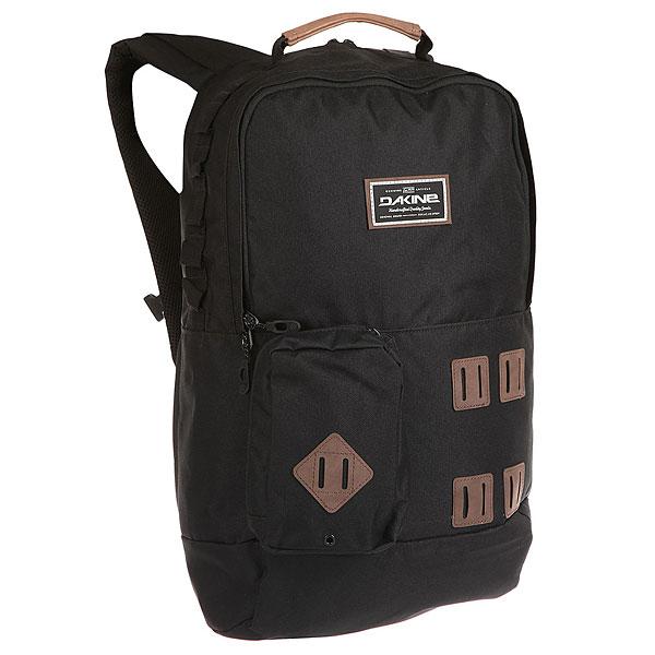 Рюкзак городской Dakine Mod 23 L BlackГородской рюкзакDakine Modполюбится тем, кто любит необычный дизайн и яркие расцветки.Отличительной чертой данной модели является модульный (съемный) передний карман. Характеристики:Стеганый чехол для ноутбука с боковым входом, что обеспечивает быстрый доступ к вашему девайсу. Подходит для большинства моделей ноутбуков с диагональю до 15 дюймов. Вместительное основное отделение.Передний карман на молнии.Передний съемный карман на клипсе. Благодаря тому, что его можно отсоединить от рюкзака, его можно использовать отдельно в качестве маленькой сумочки. Регулируемый нагрудный ремень.<br><br>Цвет: черный<br>Тип: Рюкзак городской<br>Возраст: Взрослый
