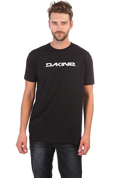 Футболка Dakine Da Rail Black футболка dakine stencil rail vintage red