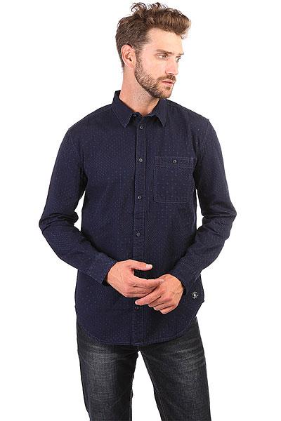 Рубашка DC Swaledale Dark Indigo<br><br>Цвет: Темно-синий<br>Тип: Рубашка<br>Возраст: Взрослый<br>Пол: Мужской