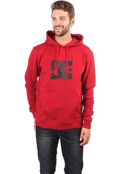Толстовка кенгуру DC Star Rio Real Red<br><br>Цвет: красный<br>Тип: Толстовка кенгуру<br>Возраст: Взрослый<br>Пол: Мужской