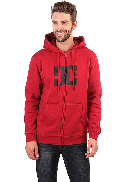 Толстовка кенгуру DC Star Rio Red<br><br>Цвет: красный<br>Тип: Толстовка кенгуру<br>Возраст: Взрослый<br>Пол: Мужской