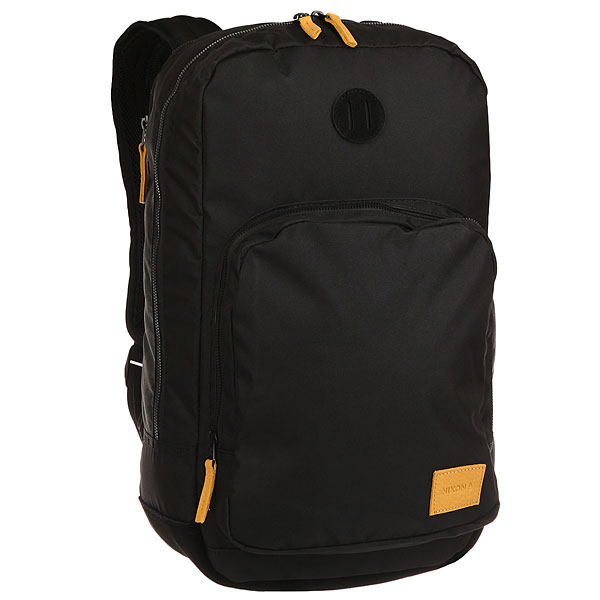 Рюкзак городской Nixon Range Backpack Black/Yellow wholesale avr r230 fast free shipping by dhl ups tnt fedex express 10pcs a lot