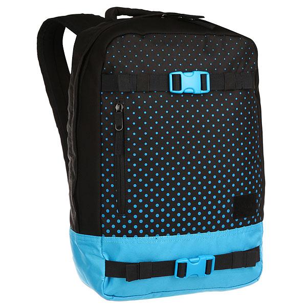 цена Рюкзак спортивный Nixon Del Mar Backpack Black/Blue онлайн в 2017 году