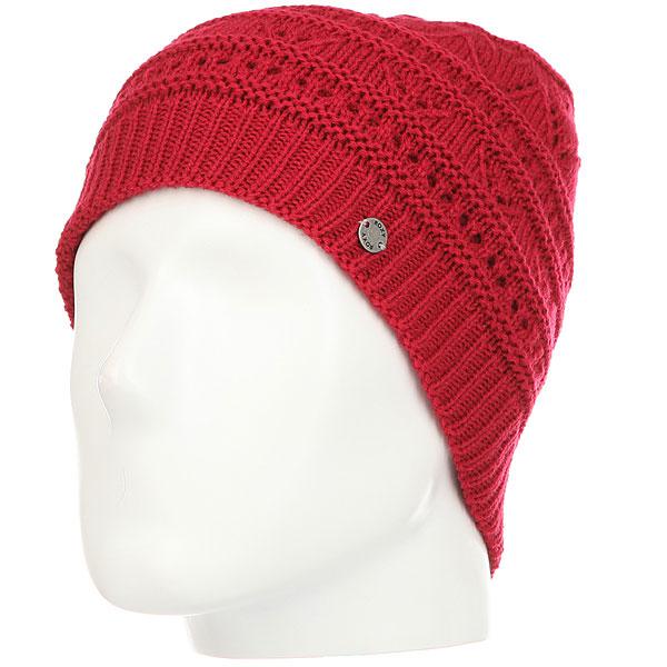 Шапка женская Roxy Girl Challenge Persian Red<br><br>Цвет: красный<br>Тип: Шапка<br>Возраст: Взрослый<br>Пол: Женский