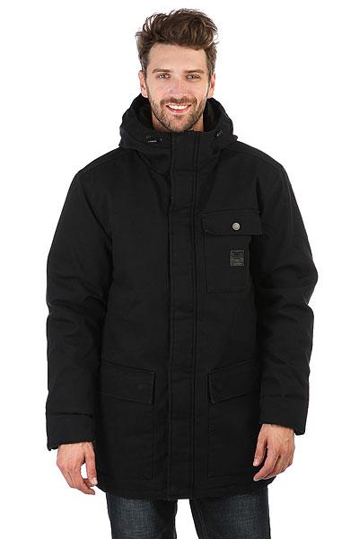 Куртка зимняя DC Canongate BlackКомфортная куртка с утеплителем для холодного времени года.Характеристики:Хлопчатобумажная парусина. Фасон «парка». Подкладка из синтетической тафты. Стеганый дизайн с плотной набивкой.Карманы с двойным доступом. Накладной нагрудный карман на пуговице со стойкой. Капюшон на утяжке.<br><br>Цвет: черный<br>Тип: Куртка зимняя<br>Возраст: Взрослый<br>Пол: Мужской