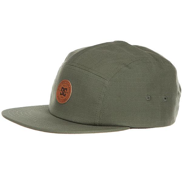 Бейсболка с прямым козырьком DC Cramper Camper Hats Vintage Green<br><br>Цвет: Темно-зеленый<br>Тип: Бейсболка с прямым козырьком<br>Возраст: Взрослый