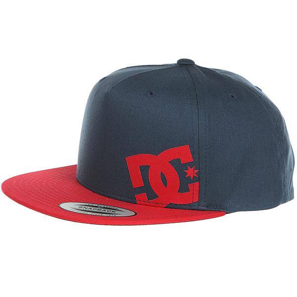 Бейсболка с прямым козырьком DC Heard Ya Hats Dark Indigo<br><br>Цвет: Темно-синий<br>Тип: Бейсболка с прямым козырьком<br>Возраст: Взрослый