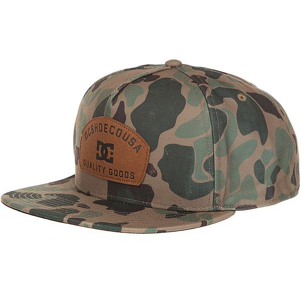Бейсболка с прямым козырьком DC Betterman Hats Fatigue Green<br><br>Цвет: мультиколор<br>Тип: Бейсболка с прямым козырьком<br>Возраст: Взрослый
