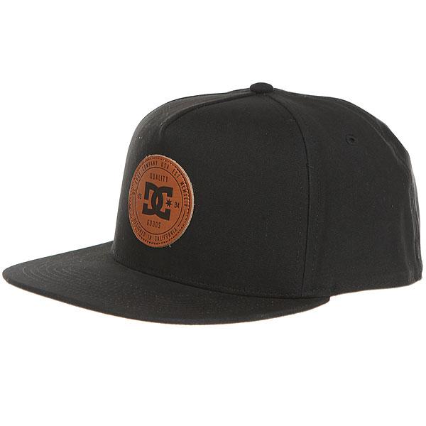 Бейсболка с прямым козырьком DC Proceeder Hats Black<br><br>Цвет: черный<br>Тип: Бейсболка с прямым козырьком<br>Возраст: Взрослый