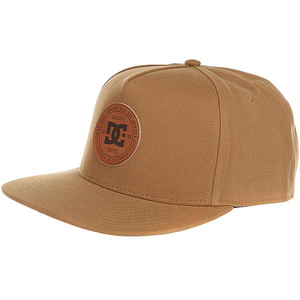 Бейсболка с прямым козырьком DC Proceeder Hats Wheat<br><br>Цвет: Светло-коричневый<br>Тип: Бейсболка с прямым козырьком<br>Возраст: Взрослый