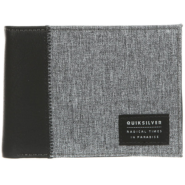 Кошелек Quiksilver Freshnessplus Grey Heather