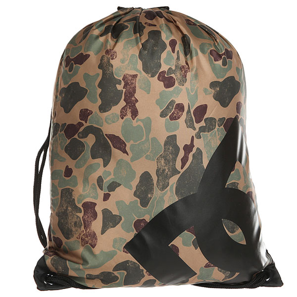 Мешок DC Cinched Duck Camo dc shoes рюкзак мешок dc shoes cinched black fw17