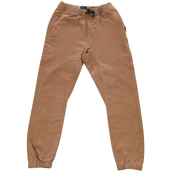 Штаны прямые детские Quiksilver Fonicyouth Rubber Heather<br><br>Цвет: коричневый<br>Тип: Штаны прямые<br>Возраст: Детский