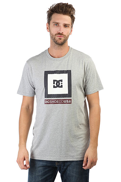 Футболка DC Attitude Grey Heather юбки balloon paris юбка