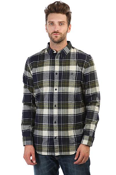 Рубашка в клетку DC South Ferry Ls Dark Indigo<br><br>Цвет: синий,серый,зеленый<br>Тип: Рубашка в клетку<br>Возраст: Взрослый<br>Пол: Мужской