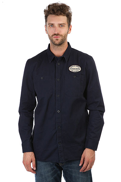 Рубашка DC Walbottle Dark Indigo