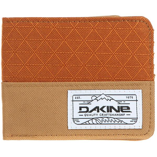 Кошелек Dakine Talus Wallet Copper<br><br>Цвет: коричневый,бежевый<br>Тип: Кошелек<br>Возраст: Взрослый<br>Пол: Мужской