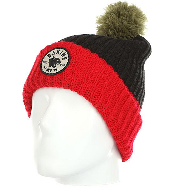 Шапка Dakine Team Panther Black<br><br>Цвет: черный,красный<br>Тип: Шапка<br>Возраст: Взрослый<br>Пол: Мужской