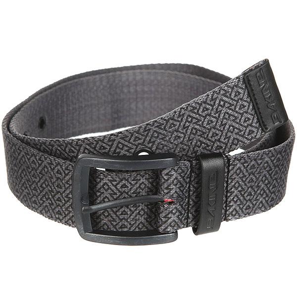 Ремень Dakine Deckard Belt Stacked Black<br><br>Цвет: серый<br>Тип: Ремень<br>Возраст: Взрослый<br>Пол: Мужской