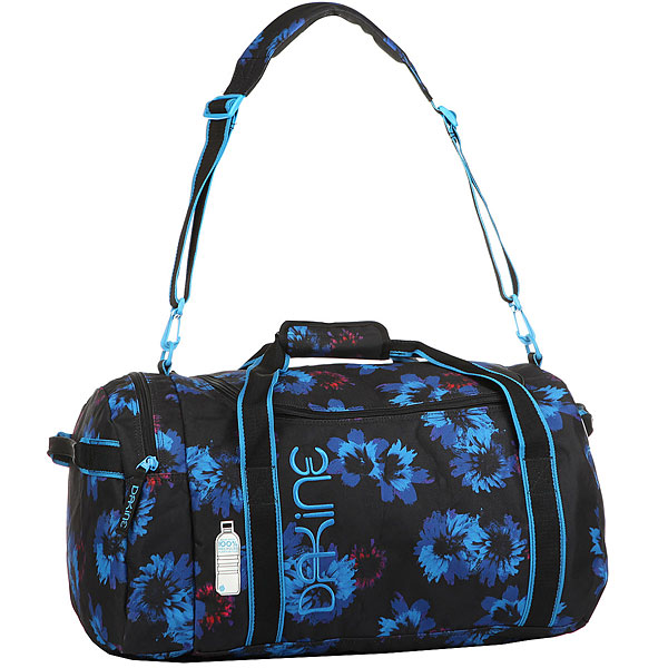 все цены на Сумка дорожная женская Dakine Womens Eq Bag 51l Blue Flowers