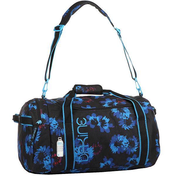 Сумка дорожная женская Dakine Womens Eq Bag 51l Blue Flowers сумка dakine boot bag 30l black