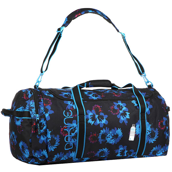 Сумка дорожная женская Dakine Womens Eq Bag 74l Blue Flowers dakine dakine tour bag 175cm