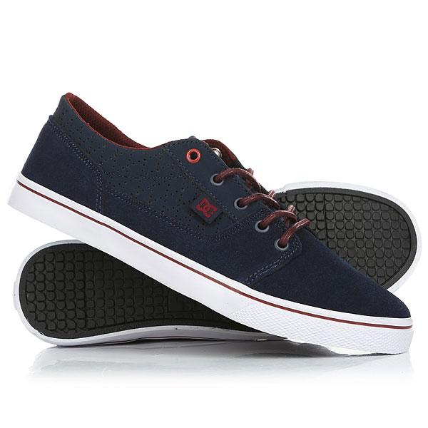 Кеды кроссовки низкие женские DC Tonik W Se Dark Blue dc shoes кеды dc heathrow se 11